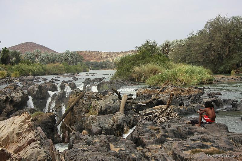 Dag 19 naar de epupa watervallen in de kunene rivier